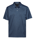 T1647M Mens Gallant Heather Polo