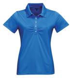 T1705W Ladies Calera Tonal Stripe Polo