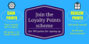 Introducing to you …our loyalty scheme!