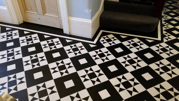Hand cuts tiles by DW Design flooring