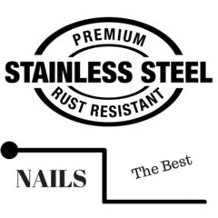 Premium stainless steel nails