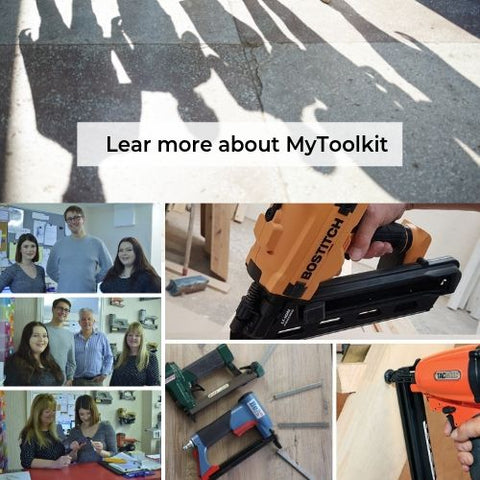 the team at mytoolkit stapling and nailing supplies