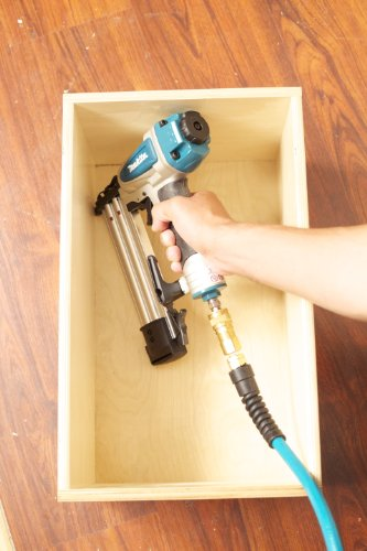 Makita AF505N Brad Nailer 18G useful for drawer fixing as in this image