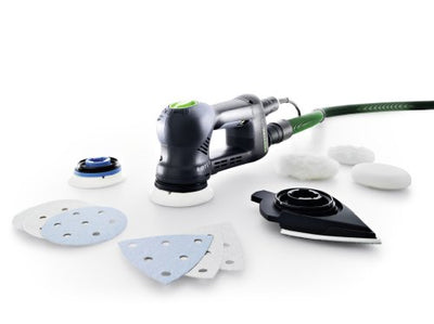 Festool RO 90 DX FEQ-Plus GB Geared Eccentric Sander Rotex, 240 V
