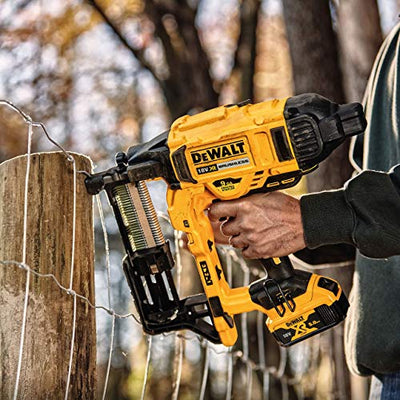 The Dewalt Nailgun for fencing is listed at mytoolkit.co.uk