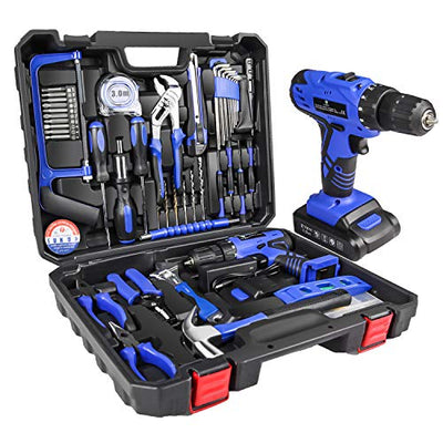 LETTON Cordless Tool Set and Drill with case
