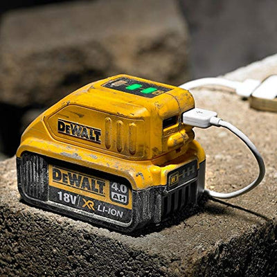 DeWalt DCB090 USB Power Source / USB Charger For XR Battery Packs from mytoolkit