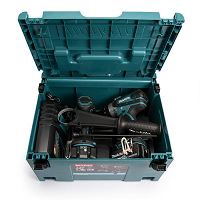 Makita DLX2145TJ Combi Drill and Impact Driver 18 V Kit  complete with case