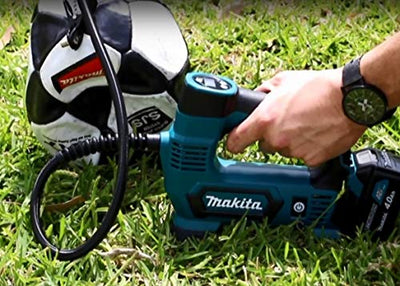 Makita DMP180Z Compressor Air inflates a ball