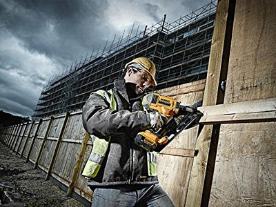 This DCN692N-XJ 18V XR Cordless li-ion Brushless Framing Nailgun from Dewalt is available to see in use here