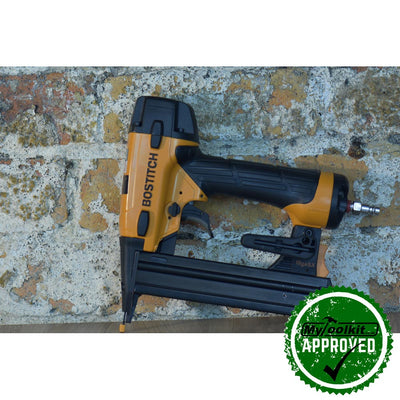 Stanley Bostitch 90 Series Stapler  SX1838-E against the wall
