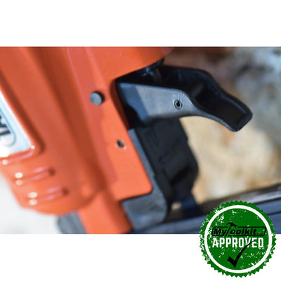 Tacwise 18 Gauge brad nailer Features include: variable adjustment of the fastener