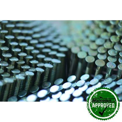 Galvanised domed Coil Nails (22-50mm)