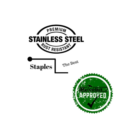 80 Series Staples Premium Grade 304 Stainless Steel