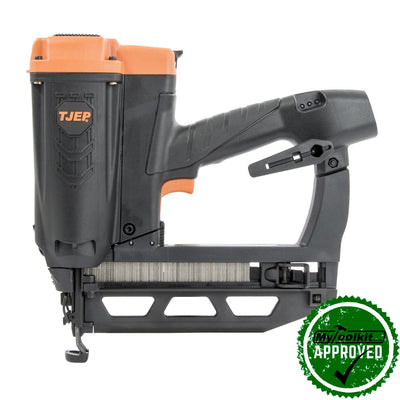 Cordless 2nd fix nailer for exhibition displays, furniture, floorboards