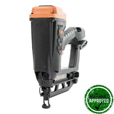 Cordless 2nd fix nailer for cabinets, moulding, baseboards