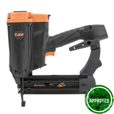 Cordless brad nailer for bookshelves, crown moulding and general joinery
