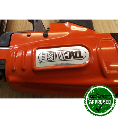 Tacwise 18 Gauge Air Brad Nailer Nail sizes 20-50mm close up of body