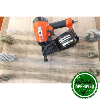 Tacwise Flat Coil Nailer (25-57mm) FCN57V with coil nails to suit