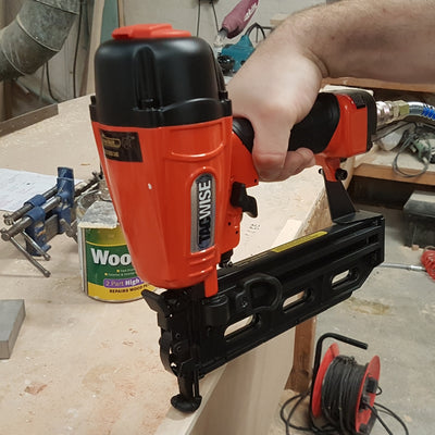 GFN64V Tacwise 16 Gauge Finish 20-64mm Nailer in joinery workshop