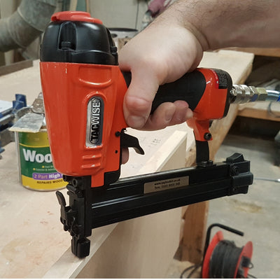C1832V Tacwise 18 Gauge Air Brad 10-32mm Nailer in joinery workshop