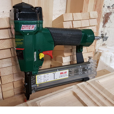OMER 21G Mini Brad Nailer MG40 highly suitable for trim