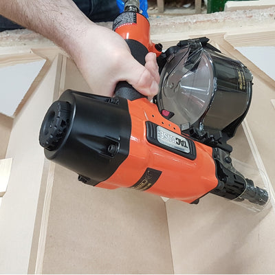 FCN65V Tacwise Flat/Conical Coil Nailer (25-65mm) in a workshop
