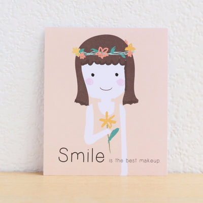 Paper Goods by Dorie 心意卡 | Smile is the best make up