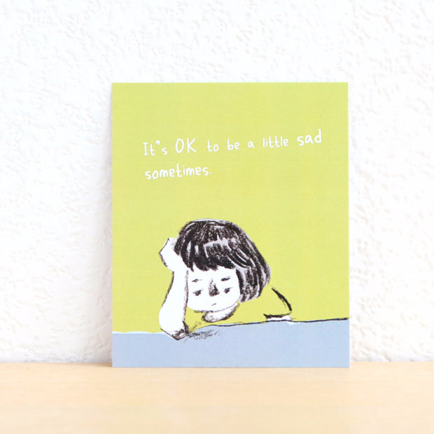 Paper Goods by Dorie 心意卡 | OK to be sad sometimes