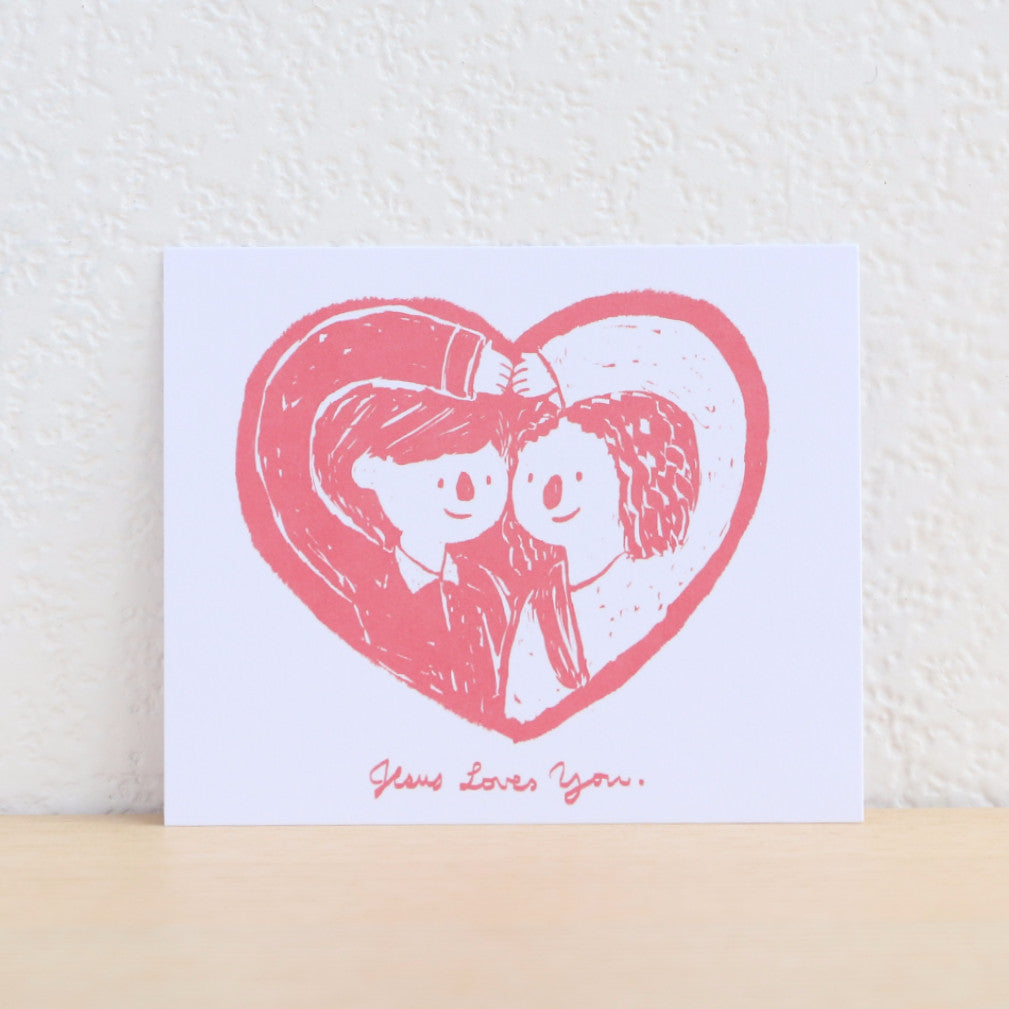 Paper Goods by Dorie 心意卡 | Jesus Loves you