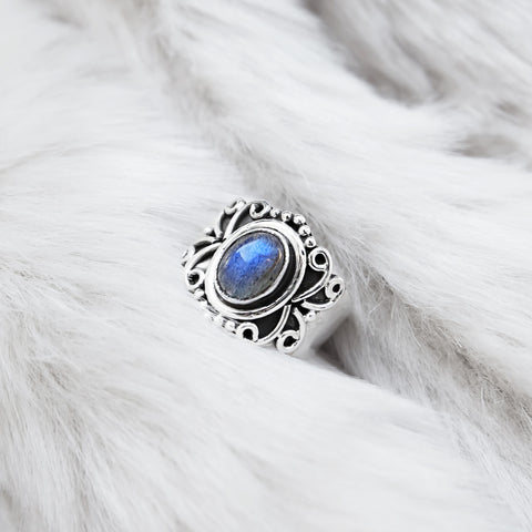 LABRADORITE BELATRIX RING