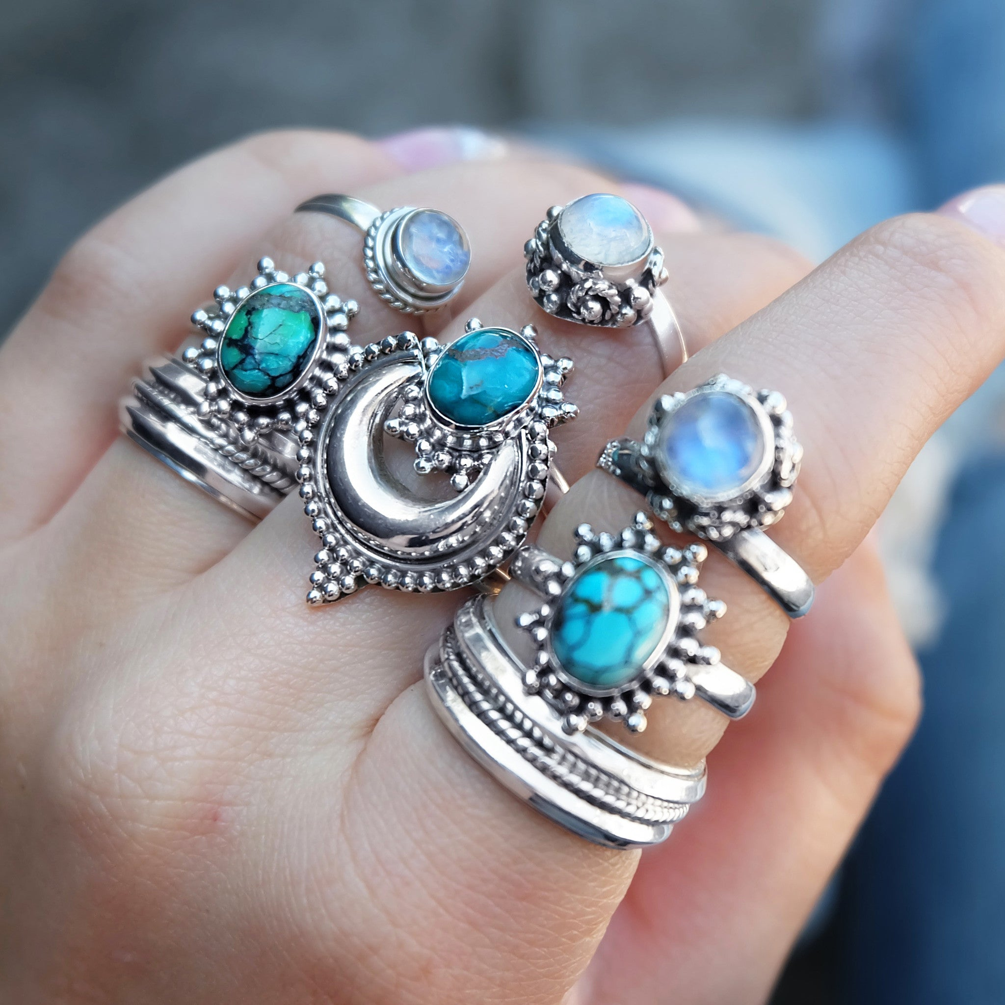 TURQUOISE DESERT VALLEY RING