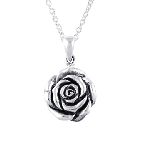 STERLING SILVER ROSIE NECKLACE