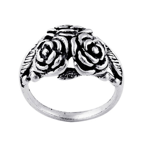 STERLING SILVER ROSIE RING