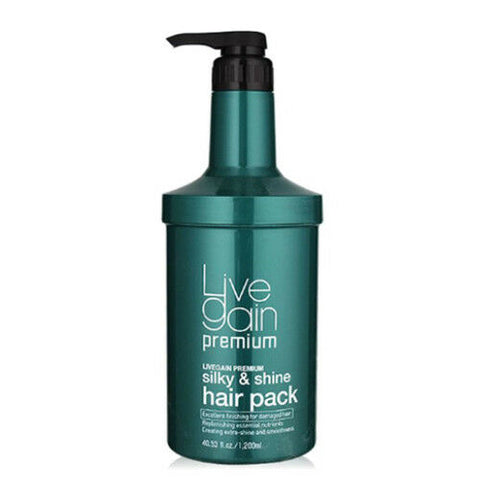 Livegain Premium Silky & Shine Hair Pack 40fl.oz
