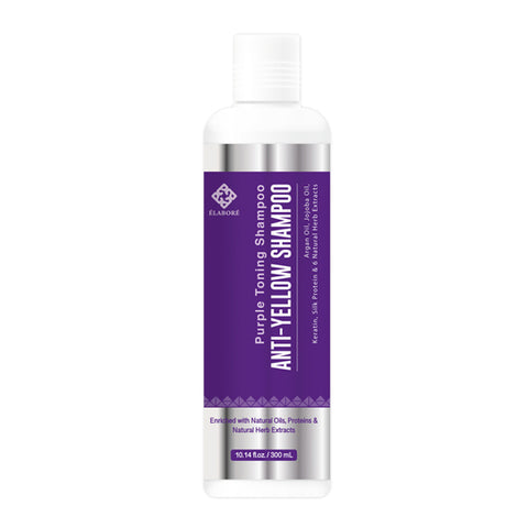 Elabore Purple Toning Shampoo - Anti Yellow Shampoo