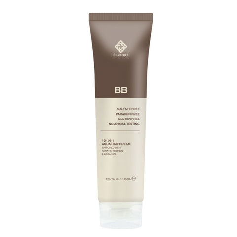 Elabore Aqua Hair BB Cream - 10-IN-1 Multi Purpose Hair Cream