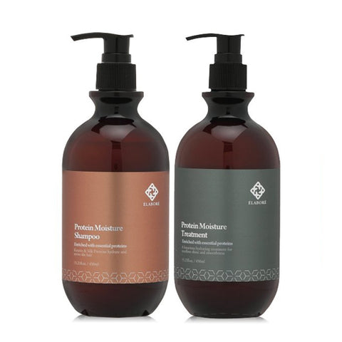 Elabore Protein Moisture Shampoo and Treatment Set
