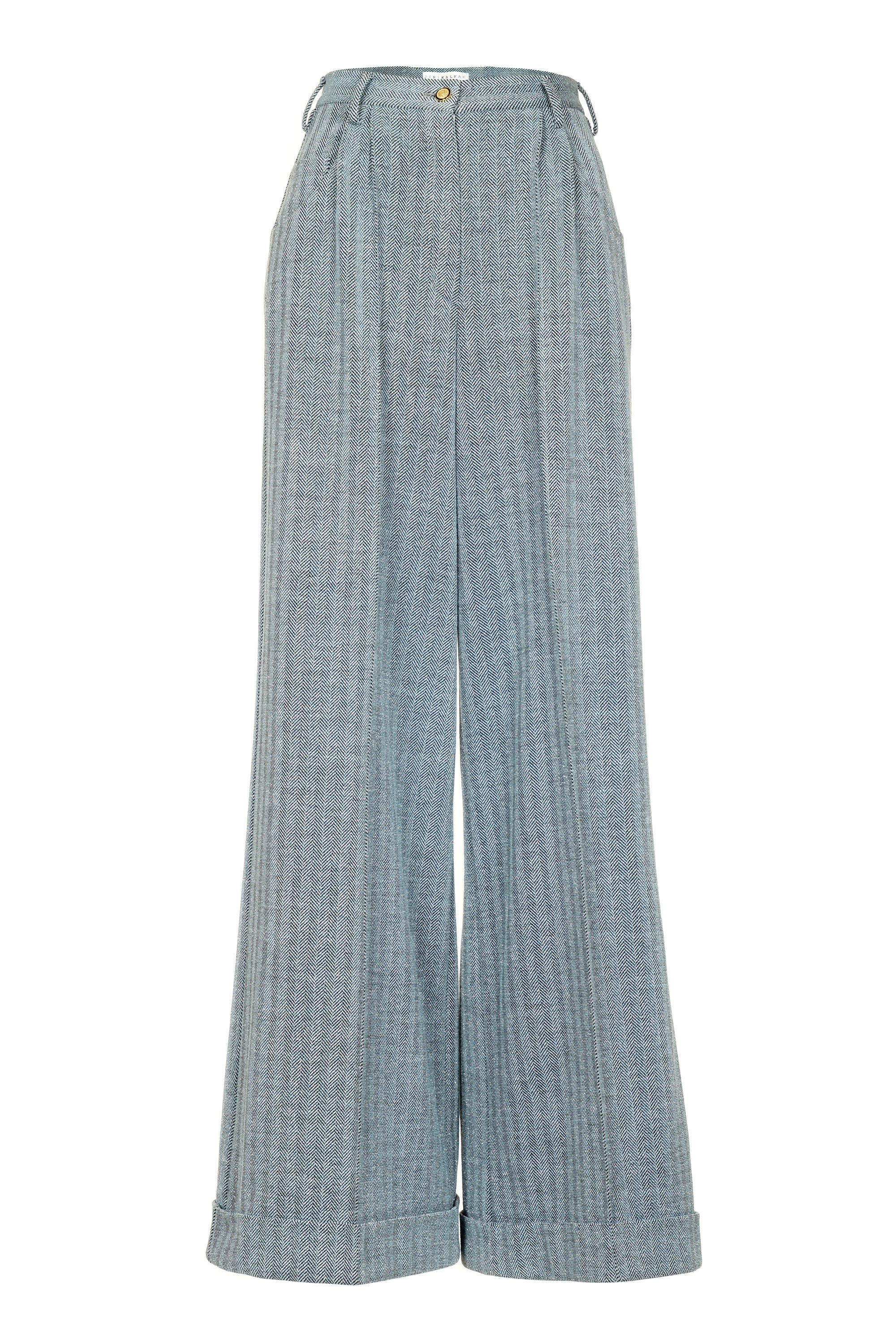 LARGE BLUE TROUSERS