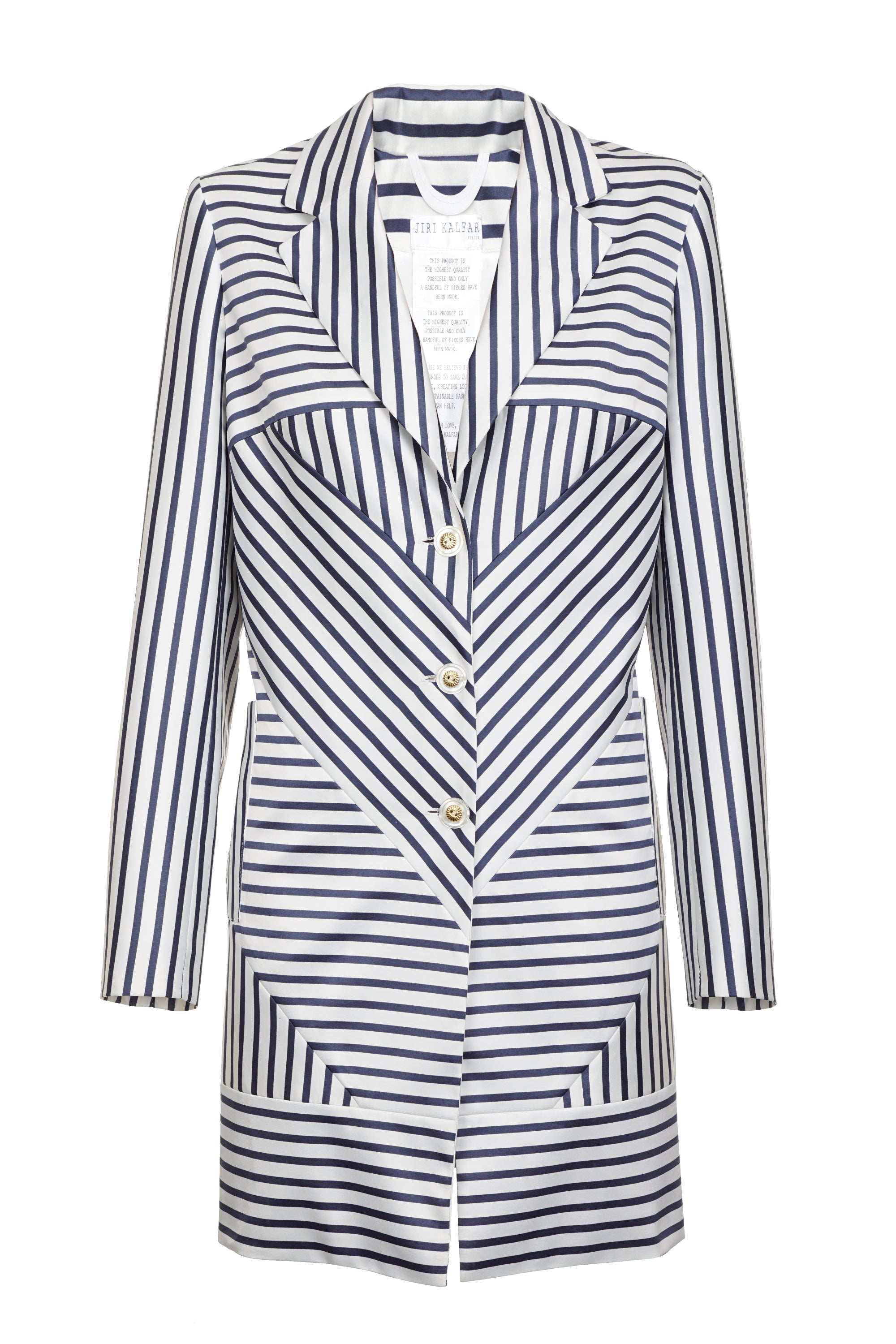 JACKET WITH STRIPES