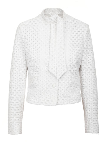 BOW-TIE WHITE JACKET