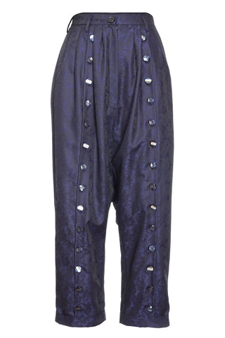 BLUE BAGGY TROUSERS