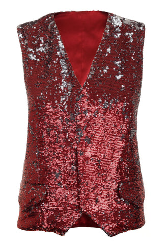 SEQUIN WAIST COAT