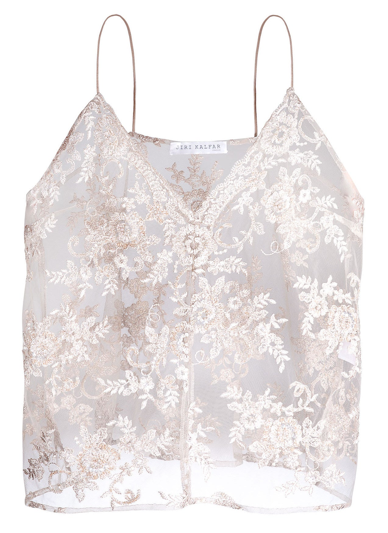 DUSTY PINK EMBROIDERED TOP
