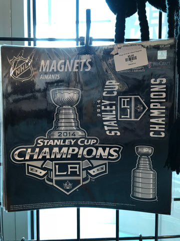 LA Kings 2014 Stanley Cup Magnets