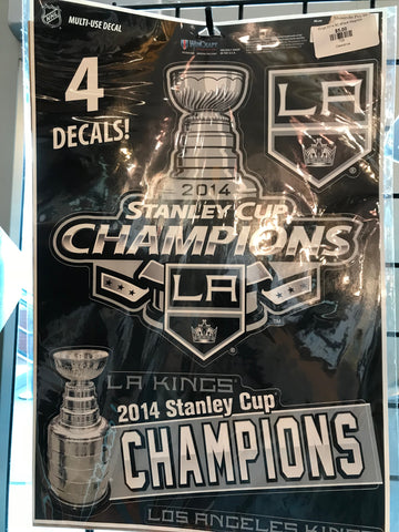 LA Kings 2014 Stanley Cup Decals