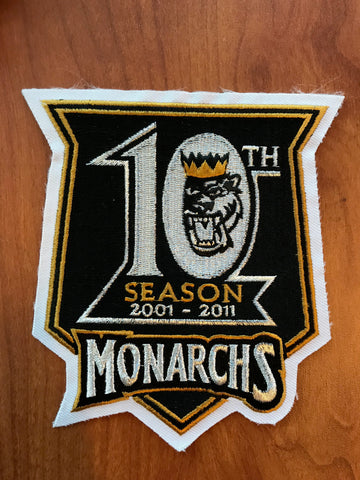 10th Season Patch