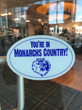 Monarchs Country Decal