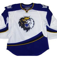2013-14 White Authentic Jersey