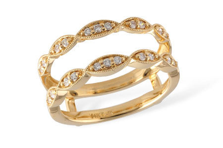 Yellow Gold Ring Guard